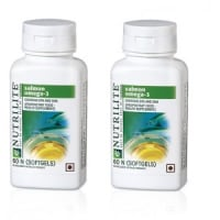 Amway Nutrilite Salmon Omega  Complex Softgels Pack of 2