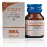 SBL Calcarea Carbonicum Trituration Tablet 3X