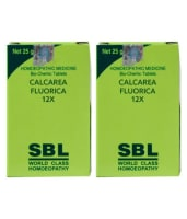 SBL Calcarea Fluorica Biochemic Tablet 12X