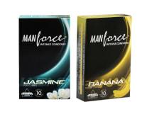 Manforce Intense Condom Combo (Banana + Jasmine)