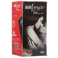 Manforce Wild Condom Strawberry
