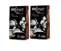 Manforce Wild Condom Coffee Pack of 2