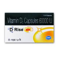 D-Rise 60K Soft Gelatin Capsule