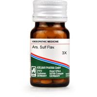 ADEL Ars Sulph Flav Trituration Tablet 3X