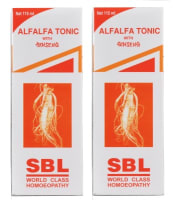 SBL Alfalfa Tonic with Genseng Pack of 2