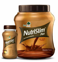 Ayurwin Combo Pack OF Nutrislim Plus, 60Caps & Nutrislim Plus Powder, 500gm (Chocolate)