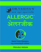 Dr. Vaidya's Allergic Pills Pack of 4
