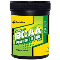 MuscleBlaze Bcca 6000 Powder Pineapple