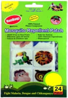Runbugz Mosquito Repellent Printed Patches-New Animal