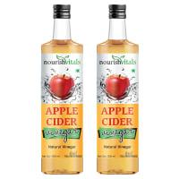 NourishVitals Apple Cider Natural Vinegar Pack of 2