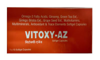 Vitoxy-AZ Soft Gelatin Capsule