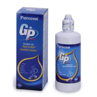 Purecon Gas Permeable Lenses Care Solution for Hard & RGP Contact Lenses