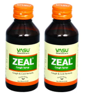 Vasu Zeal Cough Syrup Pack of 2