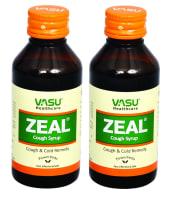 Vasu Zeal Sf Cough Syrup Pack of 2