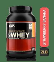 Optimum Nutrition (ON) Gold Standard 100% Whey Strawberry Banana