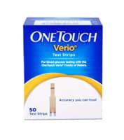 One Touch Verio Test Strip