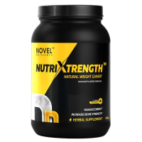 Novel Nutrients Nutrixtrength Natural Weight Gainer Chocolate