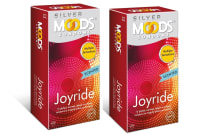 MOODS Silver Joyride Condom Pack of 2