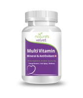 Nature's Velvet Multivitamins, Multiminerals & Antioxidants Tablet
