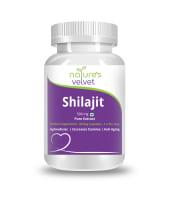 Nature's Velvet Shilajit Pure Extract 500mg Capsule