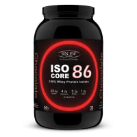 Sinew Nutrition Isocore86 100% Whey Protein Isolate  Powder Chocolate