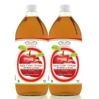 Sinew Nutrition Apple Cider Vinegar With Mother of Vinegar Pack of 2