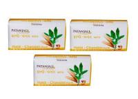 Patanjali Ayurveda Haldi Chandan Kanti Body Cleanser Pack of 3
