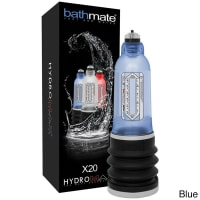 Bathmate Hydromax X20 Male Enhancement Penis Enlargement Pump Blue