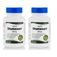 HealthVit Shatavari 250mg Capsule Pack of 2