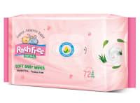 Rashfree Natural Soft Baby Wipes