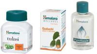 Himalaya Wellness Immunity Booster Combo Pack (Tulasi 60 Tablets, Guduchi 60 Tablets, Pure Hands Sanitizer 100ml)