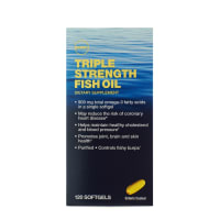 GNC Triple Strength Fish Oil Soft Gelatin Capsule