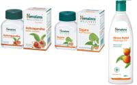 Himalaya Wellness Anti-Stress Combo Pack (Ashvagandha 60 Tablets, Tagara 60 Tablets, Stress Relief Massage Oil 200ml)