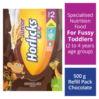 Horlicks Junior Stage 2 Powder Refill Pack Chocolate