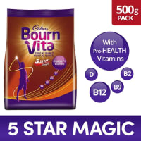 Bournvita Five Star Magic Pro-Health Drink Refill Pack Chocolate