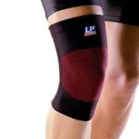 LP #641 Knee Support Elastic Single XL Black