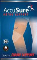 AccuSure E-9 Elastic Elbow Support M