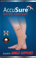 AccuSure A-9 Elastic Ankle Support L