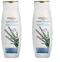 Patanjali Ayurveda Kesh Kanti Milk Protein Hair Cleanser Pack of 2