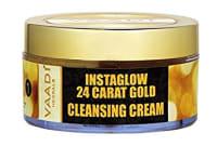 Vaadi Herbals 24 Carat Gold Cleansing Cream - Marigold & Wheatgerm Oil