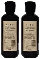 Khadi Naturals Herbal Amla Reetha Shampoo With Almond Oil Pack of 2
