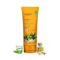 Vaadi Herbals Sunscreen Lotion SPF-50 with Aloe Vera & Chamomile