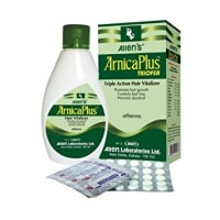 Arnica Plus (Hair Vitalizer 100 Ml+ Triofer 50 Tablets) Kit