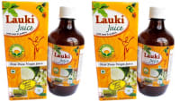 Basic Ayurveda Lauki Juice with Tulsi & Pudina Pack of 2