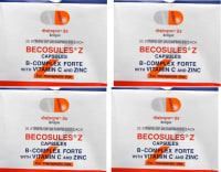 Becosules Z Capsule Pack of 4