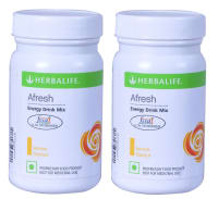 Herbalife Afresh Energy Drink Mix Lemon Pack of 2