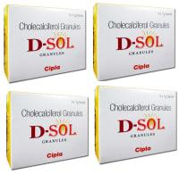 D-Sol Granules Pack of 4