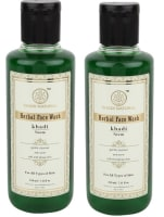 Khadi Naturals Herbal Neem 210ml Face Wash Pack of 2