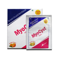Myocyst Suger Free Sachet Orange