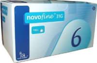 Novofine 31G Needle Pack of 8